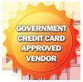 Goverment Credit Card Approved Vender